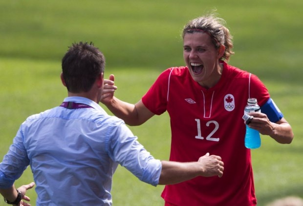 The beautiful game is made more beautiful by souls and guts like Christine Sinclair's.