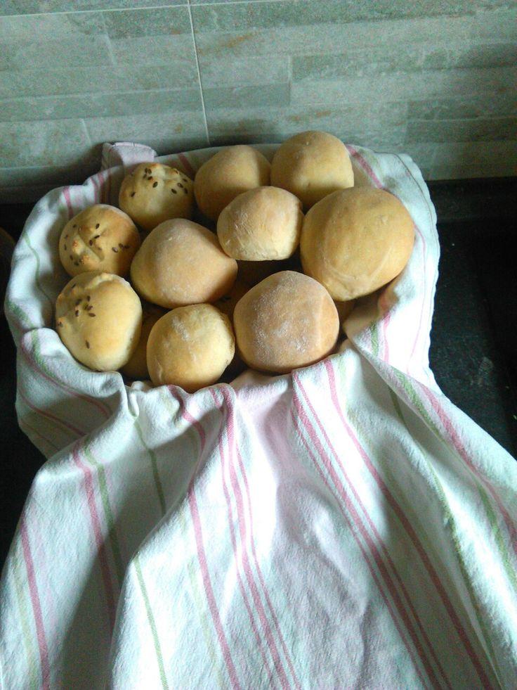 Bochanky z těsta na toustový chleb (recept Apetit)