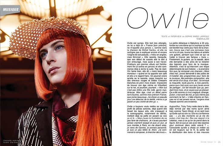 Raise Magazine Issue #14 with Owlle #Owlle