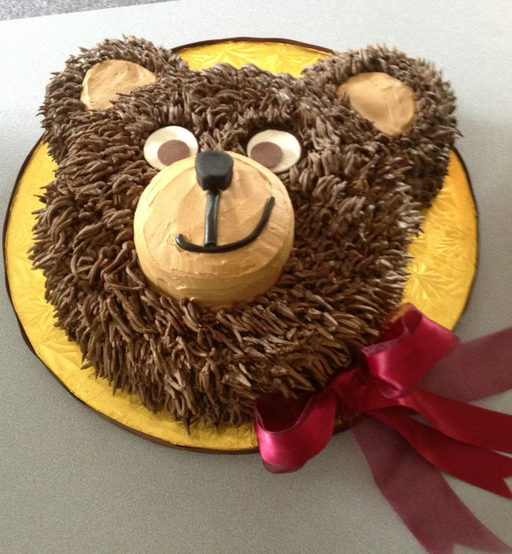 Cake Design Teddy Bear : Best 25+ Bear cakes ideas on Pinterest