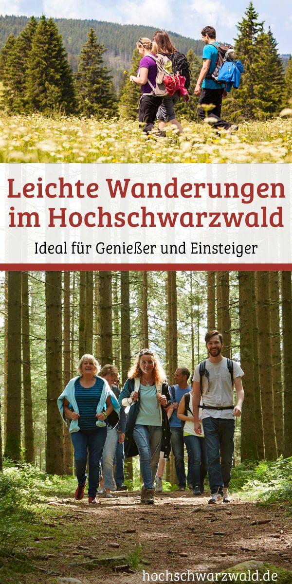 Ideal für Genießer und Einsteiger: Eine geeignete Kombination aus Bewegung und geringer Belastung bieten Ihnen leichte Wanderungen und Touren durch den Naturpark Schwarzwald.