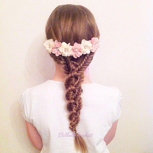Fourstrand fishtail braid