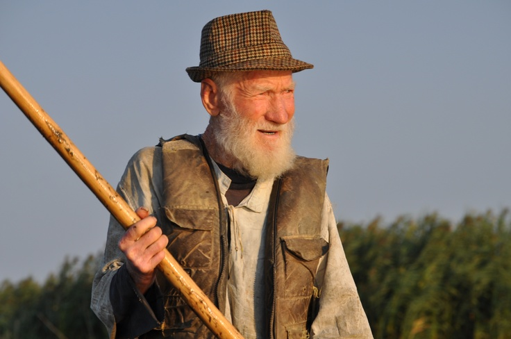 Danube Delta, 84 years old fisherman