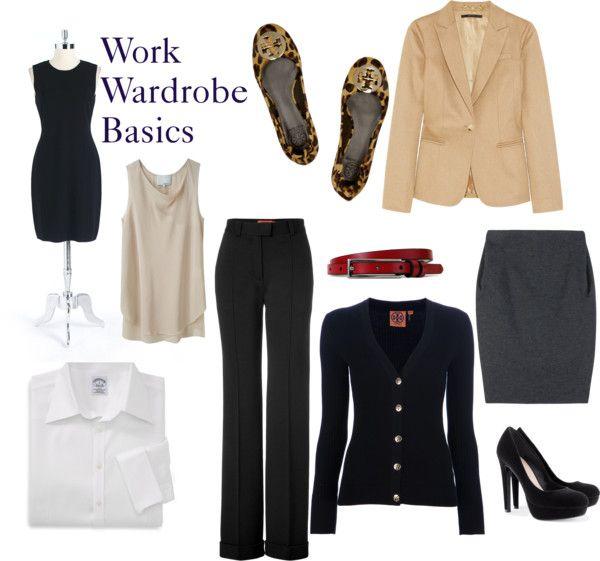 """""""Work Wardrobe Essentials"""""""