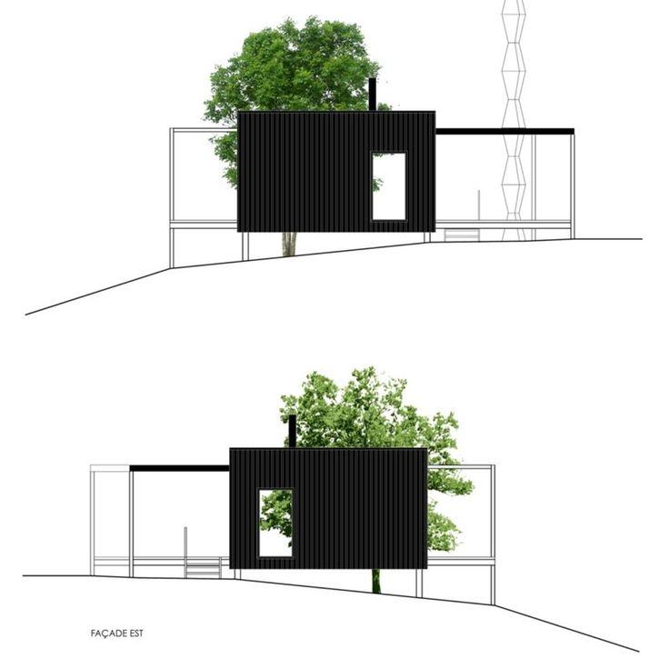 diamant noir shippnig container home - Versand Container Huser Design Plne