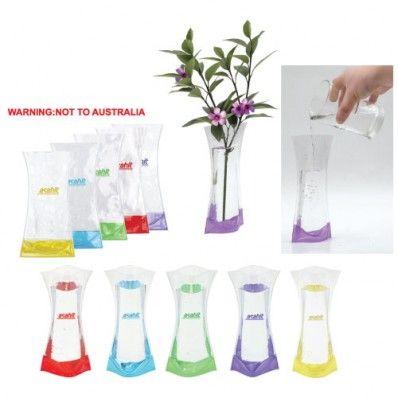 Folding Vase - Offshore Direct - Minimum of 1000 units @ $0.53 ea.