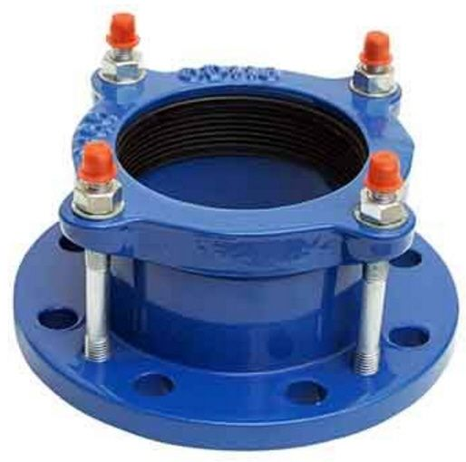 Flexible flange adapter for ductile iron pipe
