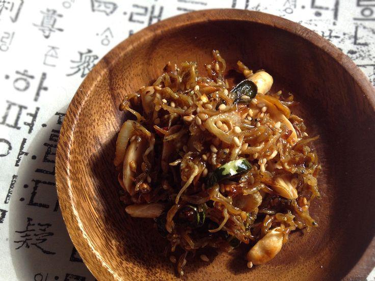 ちりめんじゃことピーナッツの韓国風佃煮    #韓国料理レシピ  #トド江