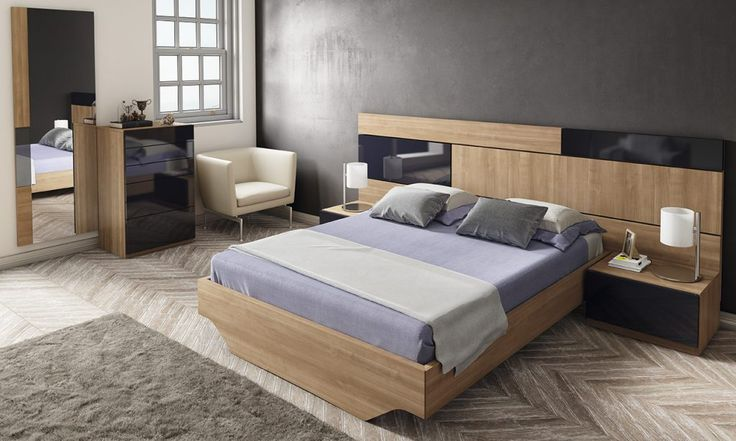 Dormitorio moderno (168 – D34) - Muebles CASANOVA