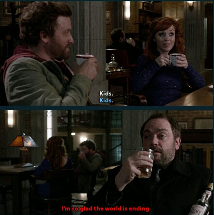 Chuck and Rowena bond over parental knowledge and Crowley sits and drinks whisky as he waits for the world to come crashing down