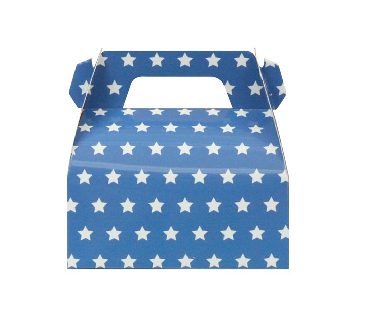 Pack of 10 Navy Star Gable Boxes, Captain America Gable Boxes, Marvel Party Gable Boxes, Marvel Party Favors, Navy Gable Boxes, Gable Boxes. by MookiPartyShop on Etsy