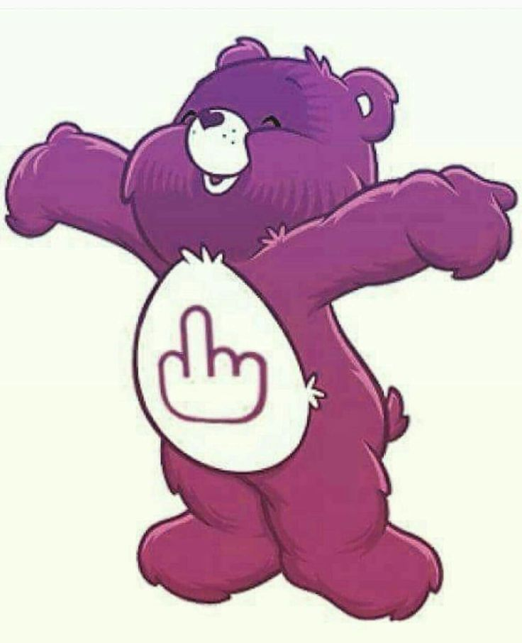 Much Fuck care bear for that