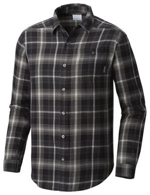 Columbia Cornell Woods Flannel Shirt for Men - Shark Multi Plaid - M:… #camping #hiking #outdoors #shooting #fishing #boating #hunting