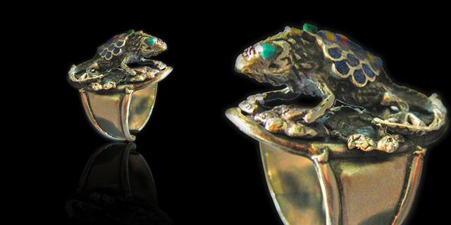 #Anillos #Iguana