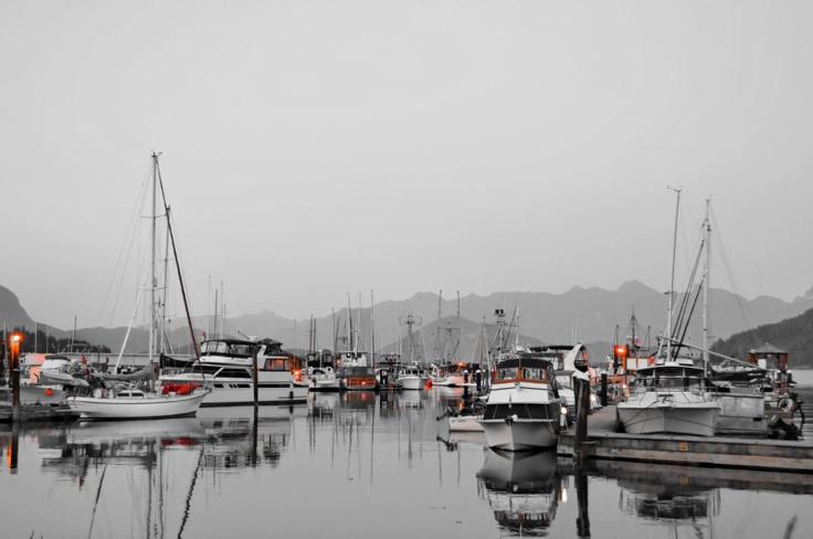 Gibsons Marina - Gibsons, Sunshine Coast, Howe Sound, British Columbia, Canada