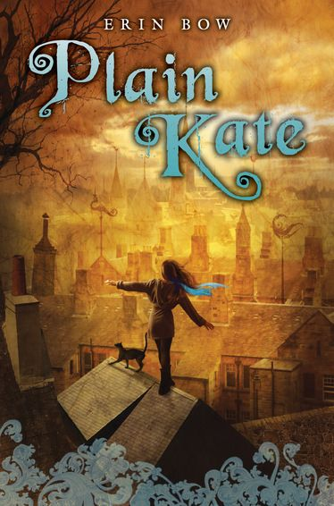 "2011 winner. Plain Kate Author / Erin Bow. 12 and up. Canadian.   ""Original and sometimes disturbing, Plain Kate is a compelling story of dark magic and a remarkable debut by a talented writer."" —Quill & Quire, starred review"