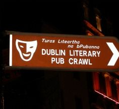 This is an award-winning show that crawls from pub to pub with professional actors performing from the works of Dublin