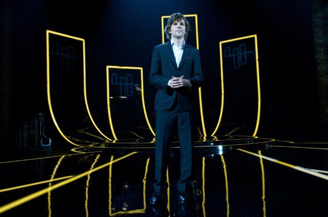 Still of Jesse Eisenberg as Daniel Atlas in Now You See Me. When did he get hot??
