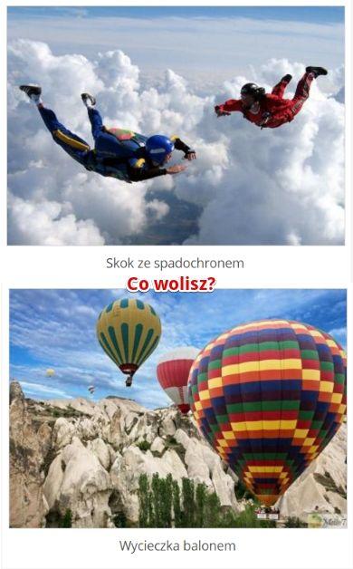 Co wolisz? http://www.ubieranki.eu/quizy/co-wolisz/754/co-wolisz_.html