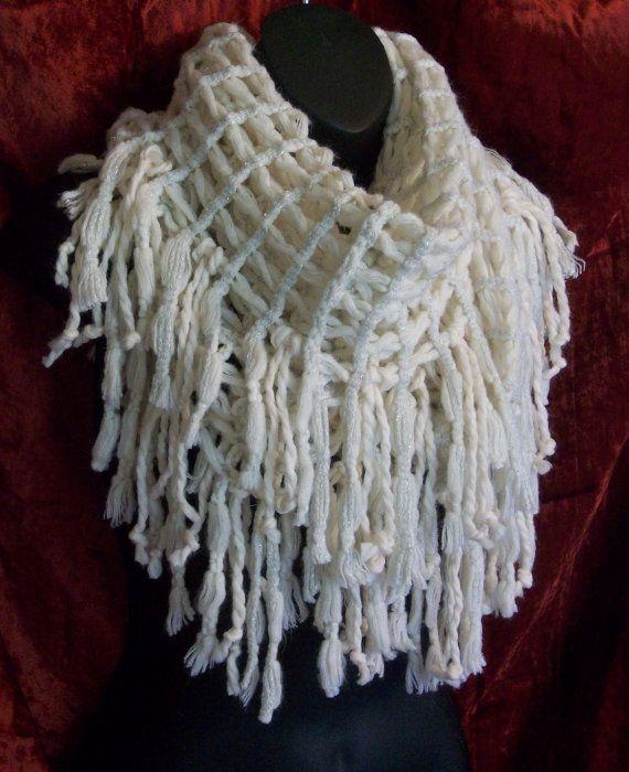 vrouwen sjaals oneindigheid sjaal vallen winter sjaal door LamaLuz