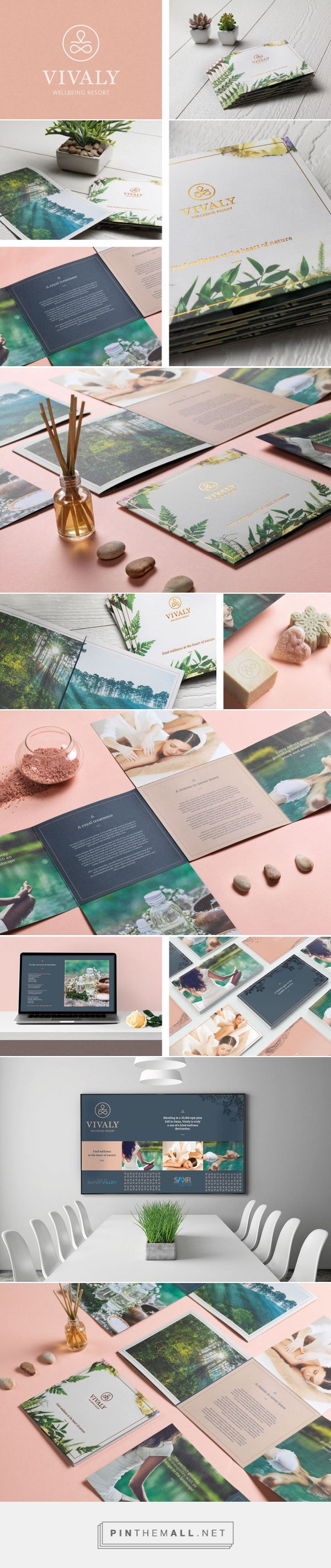 Vivaly Wellbeing Resort on Behance - created via https://pinthemall.net
