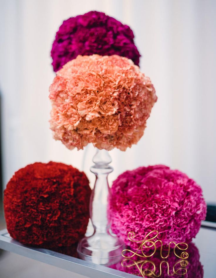Symbolic Meanings of Wedding Flowers  | Photo by: Justin & Mary | TheKnot.com