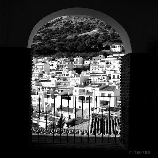 Mijas by the window by 190780, via Flickr