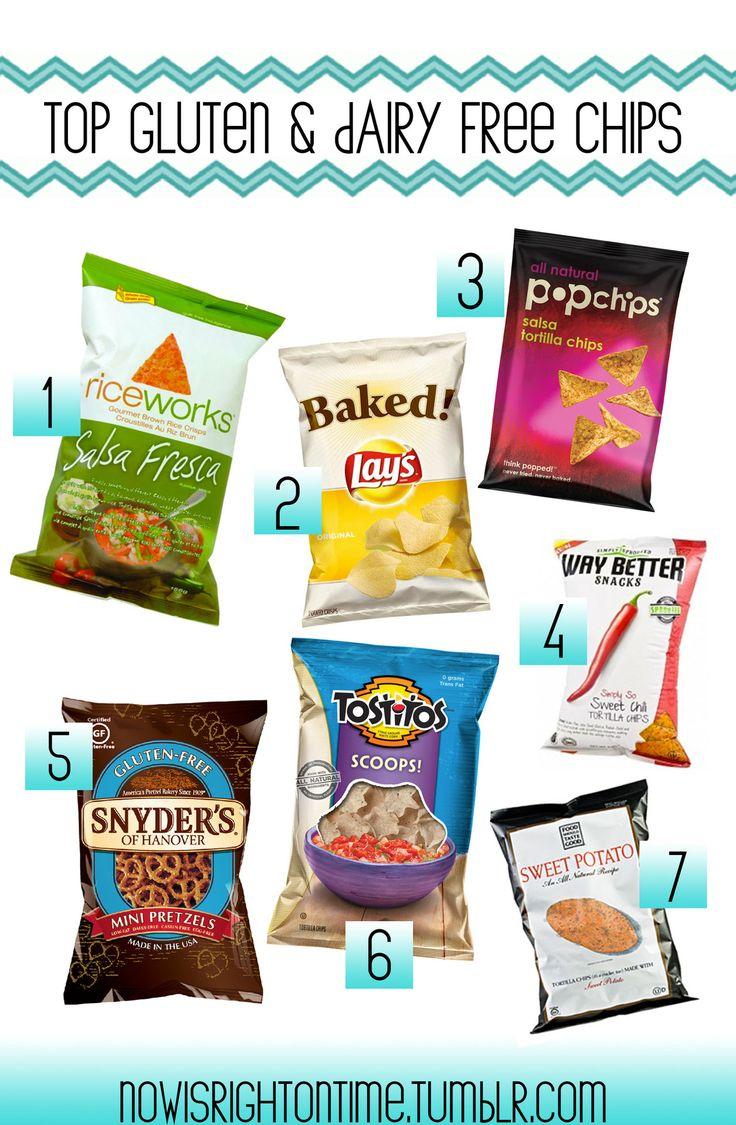 gluten free / dairy free chips