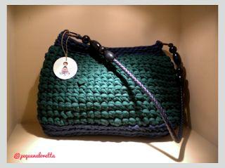tejer crochet crochet trapillo mis cosillas bolsa de carteras crochet