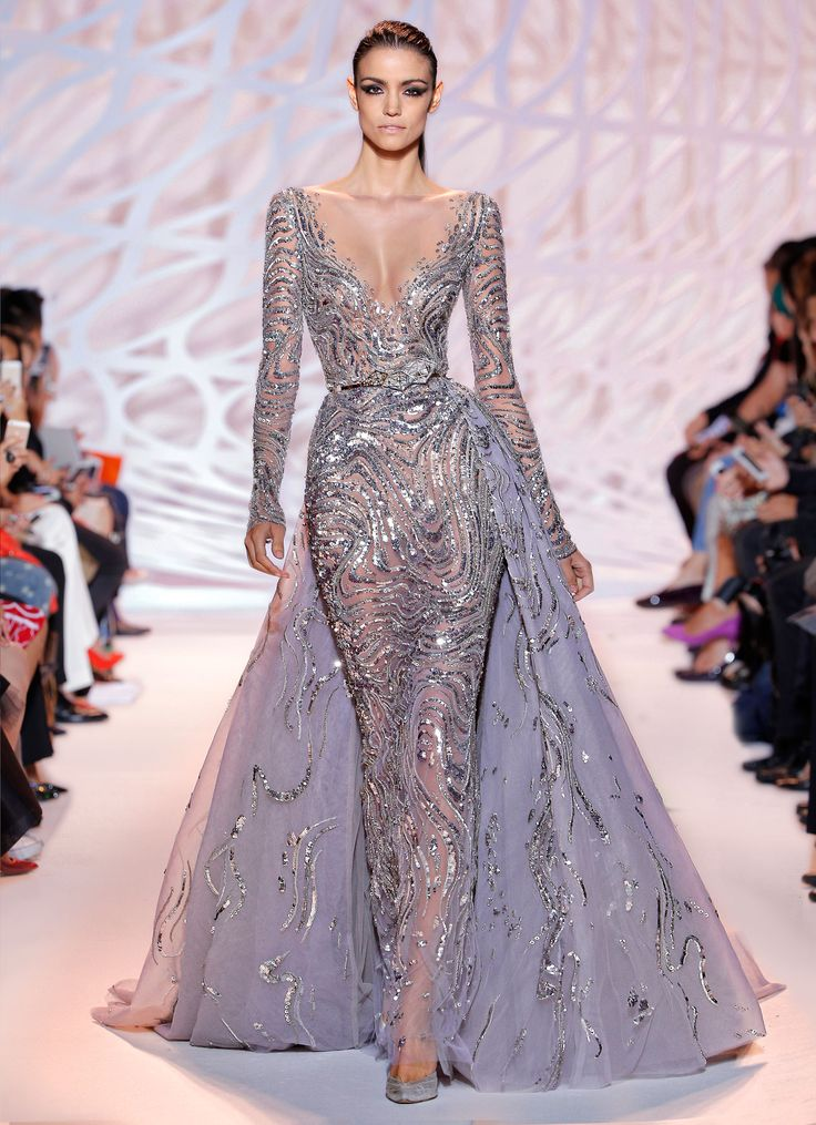 Zuhair murad haute couture fall winter 2015 collection 42 for Haute couture gowns