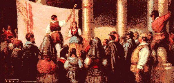 5. Nació Miguel de Cervantes el 7 de octubre de 1547.
