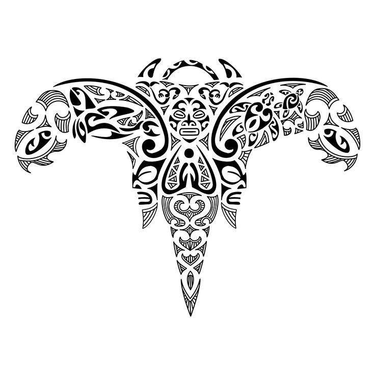 maori art | maori-angel-piece-tattoo |
