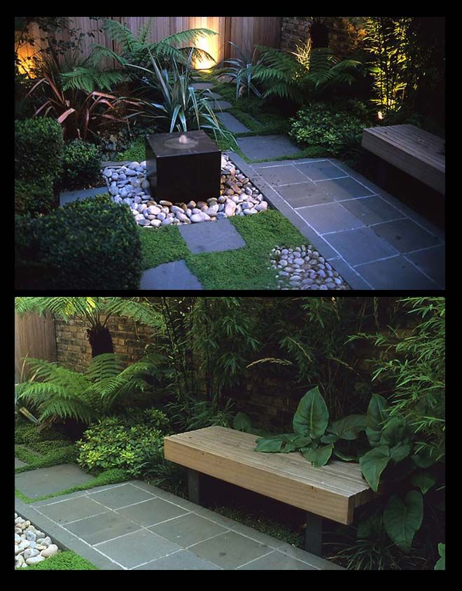17 best images about courtyard garden on pinterest for Tropical courtyard garden design