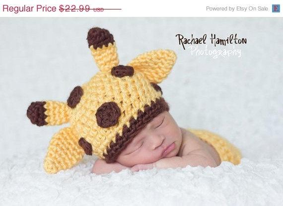 ON SALE Giraffe handmade crochet HAT  Newborn to 10 by NattyHatty, $20.23Giraffes Baby, Handmade Crochet, Baby Giraffes, Giraffes Handmade, Crochet Hats, Baby Girl Newborn, 10 Years, Baby Girls, Hats Newborns