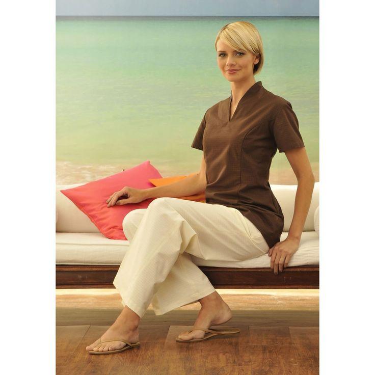 Opeia female therapist tunic