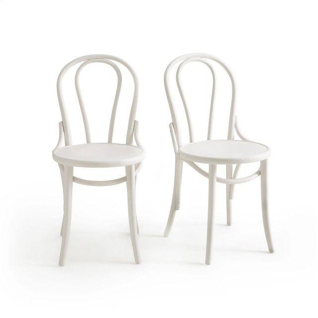Chaise Style Bistrot Lot De 2 Troket La Redoute Interieurs La Redoute Chaise Bistrot Chaise Chaise Cuisine