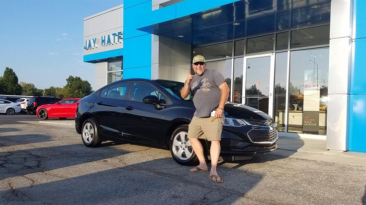 Tyson, we hope you enjoy your new 2017 Chevy Cruze.  Congratulations and best wishes from Jay Hatfield Chevrolet and Brian Wellmeier.