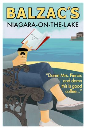 """Damn, Mrs. Pierce; and Damn this is good coffee..."" Official poster."