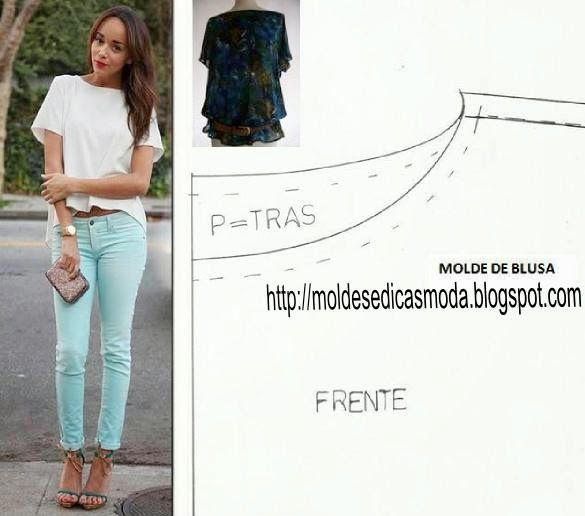 Blouse, free patterns to download