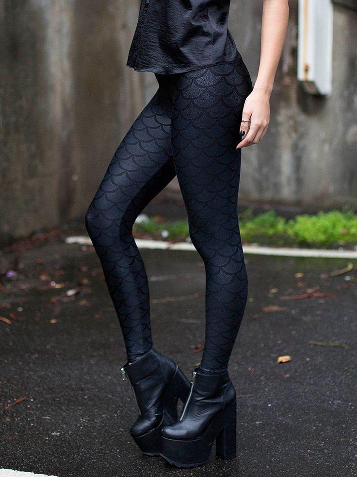 Merman Leggings 2.0 – LIMITED (WW $80AUD / US $64USD) by Black Milk Clothing