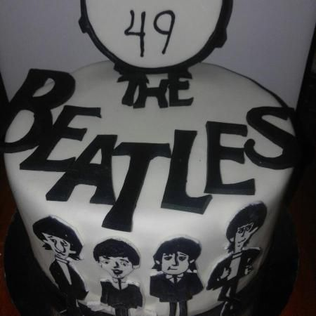 Pasteles personalizados The Beatles