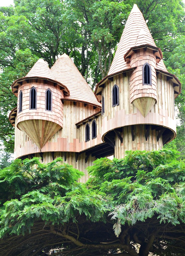 Best Treehouses Images On Pinterest Treehouses Beautiful - Beautiful tree house designs
