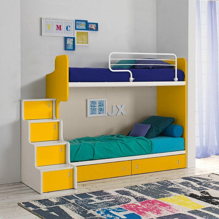 bunk bed with storag - Hausgemachte Etagenbetten Fr Mdchen