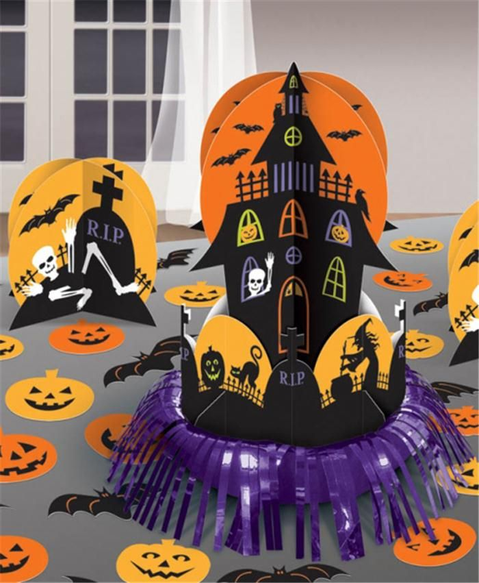 1000 id es sur le th me d corations pour maison hant e sur for Deco maison halloween