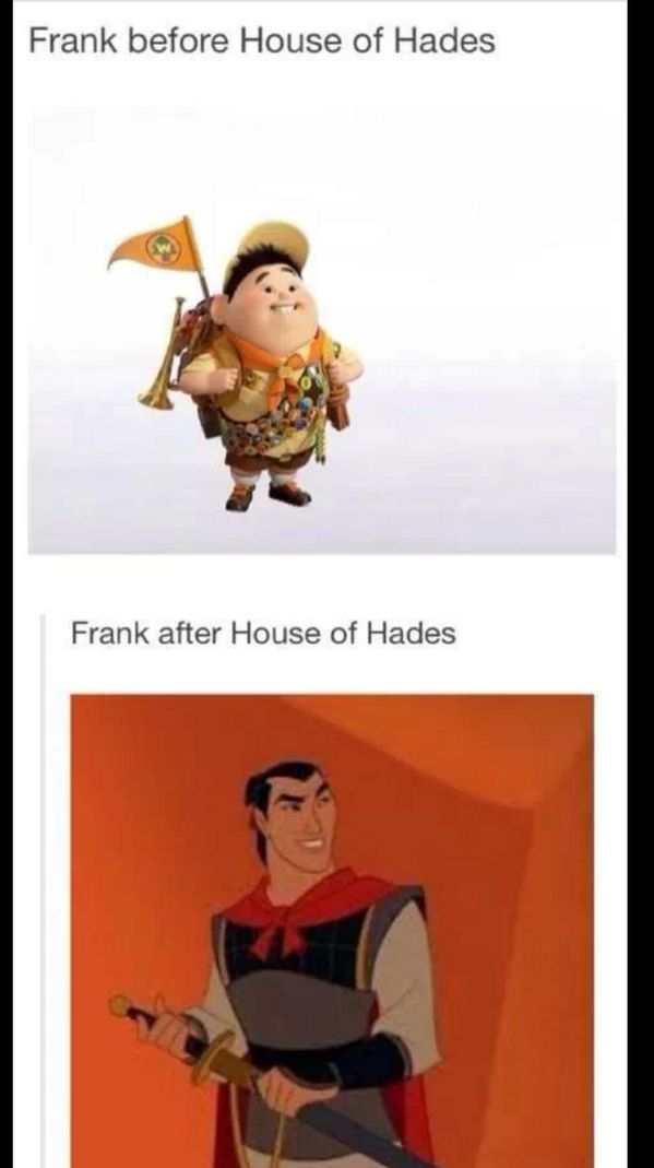 Lololol this is so perfect I can't even. #PJO #HOO #FrankZhang