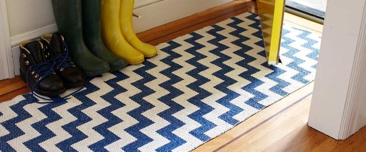 I am so in love with these awesome rugs from Brita Sweden.