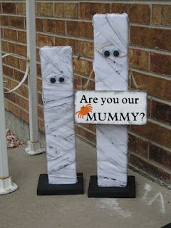Change it to say 'are you MY mummy' and I'm sold. An adorable decoration and a subtle Doctor Who reference.