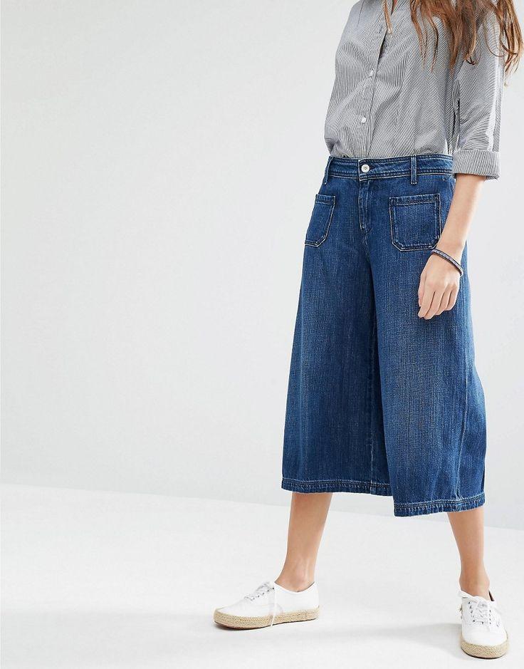 Image 1 of Hilfiger Denim Culotte Jeans