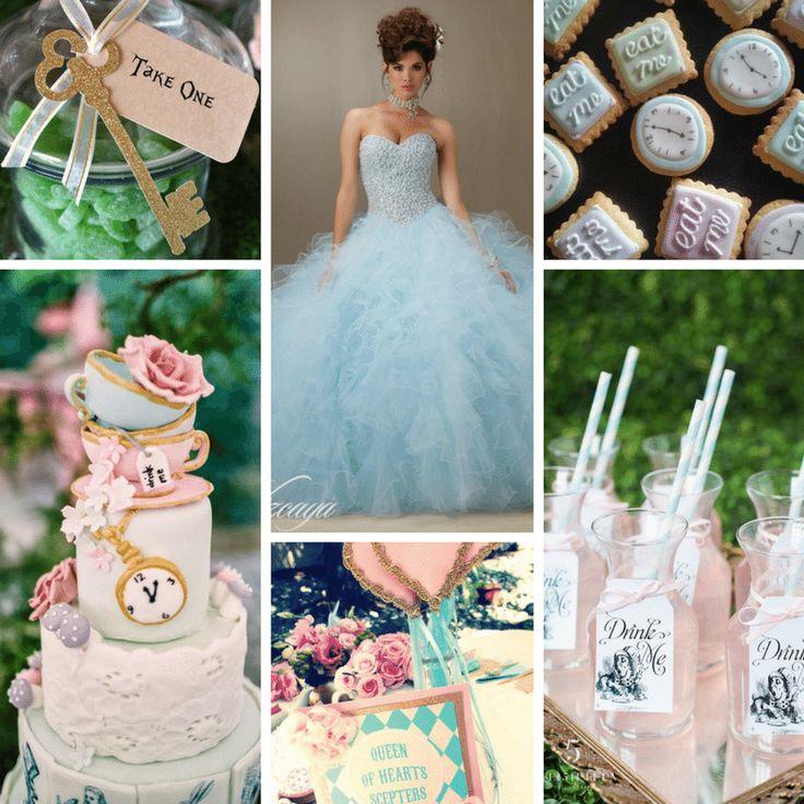 Alice in Wonderland Theme Quinceanera Ideas