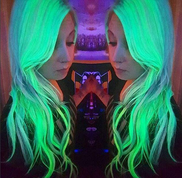Korean Popular 5D Fluorescence Hair Color Styling Cream Colored Wax Hair Color  Hair Dye wax Soft Salon Party Christmas